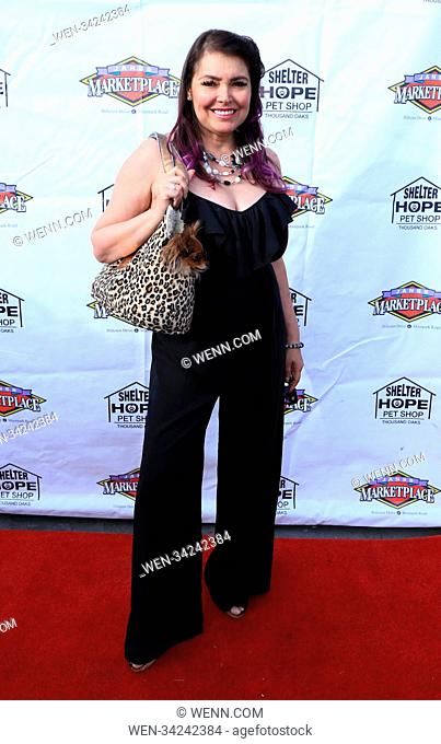 Shelter Hope Pet Shop's first annual fundraiser gala and rescue me award ceremony Featuring: Devin De Vasquez Where: Malibu, California