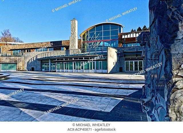 Shadbolt Centre for the Arts, Deer Lake Park, Burnaby, British Columbia, Canada