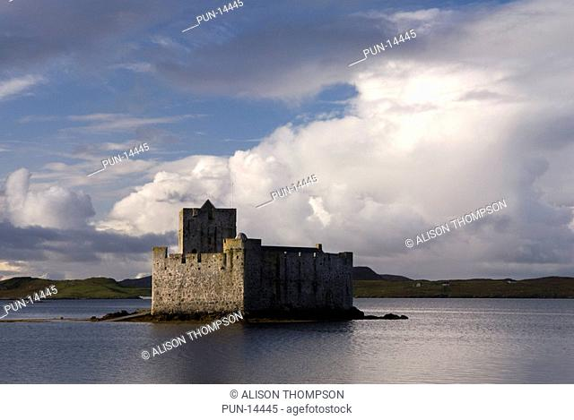 Kisimul castle, Castlebay, Isle of Barra, Outer Hebrides, Scotland