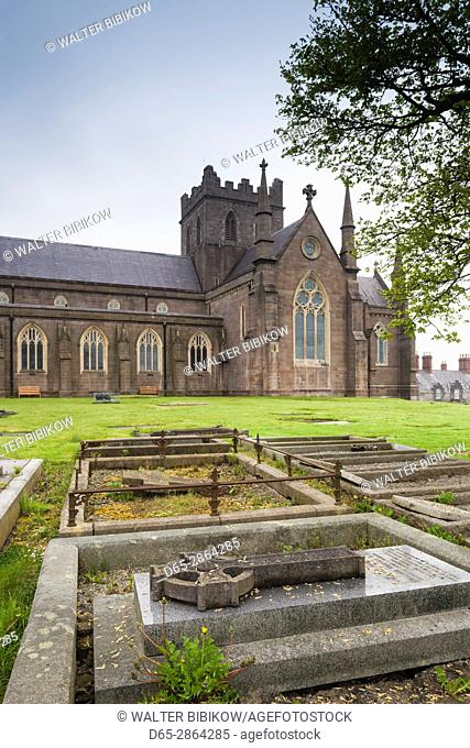 UK, Northern Ireland, County Armagh, Armagh, St. Patrick's Church of Ireland Cathedral, exterior