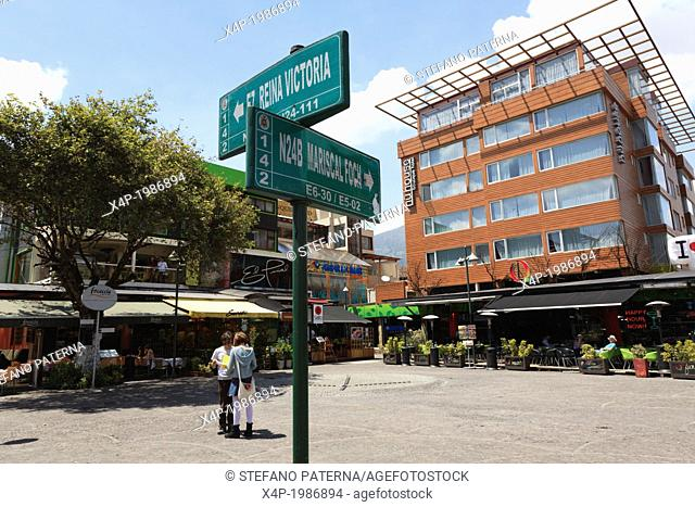 Plaza Foch, Eating and Drinking, Quito, New City, Ecuador