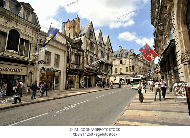 Rue de la Liberté, Dijon, Burgundy, France