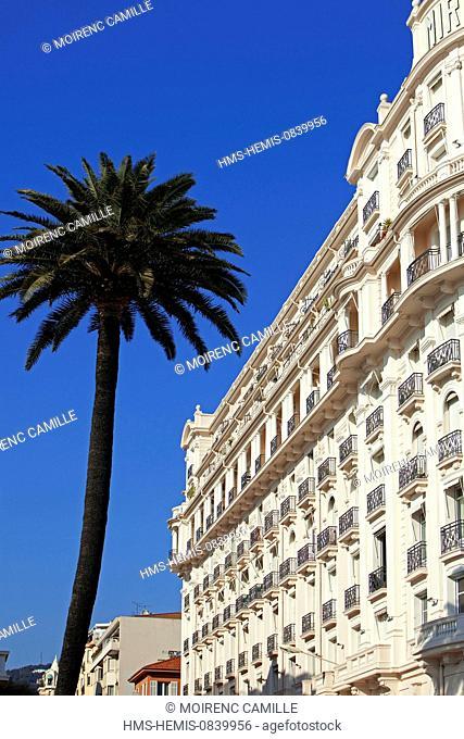 France, Alpes Maritimes, Cannes, Hotel Le Miramar