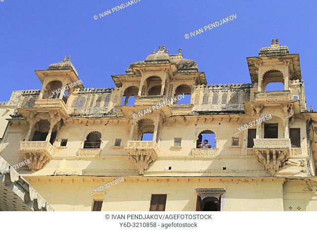 City Palace, Udaipur, Rajastan, India