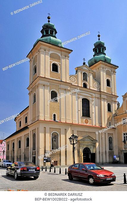 Church of Our Lady of the Rosary. Klodzko, Lower Silesian Voivodeship, Poland