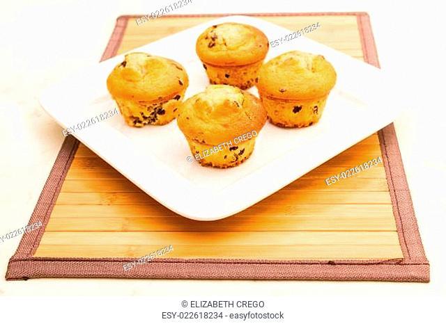 Vanilla with chocolate chips Muffins