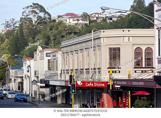 New Zealand, North Island, Hawkes Bay, Napier, art-deco architecture