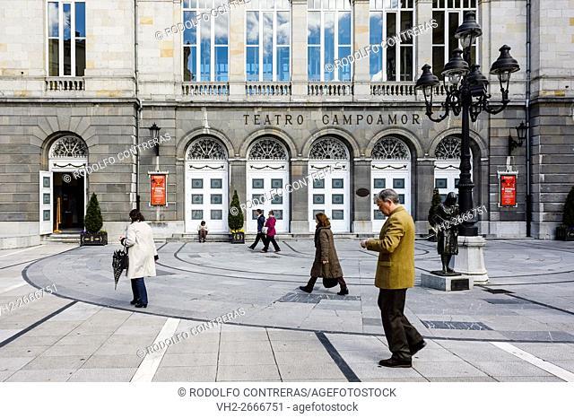 Theater Campoamor in Oviedo, Asturias (Spain)