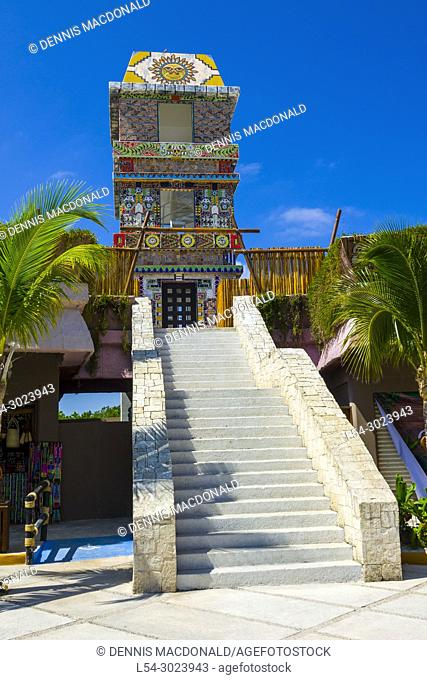 The Cruise destination Costa Maya Mexico America is a popular stop on the Western Caribbean cruise ship tour and affords shopping and other sightseeing...