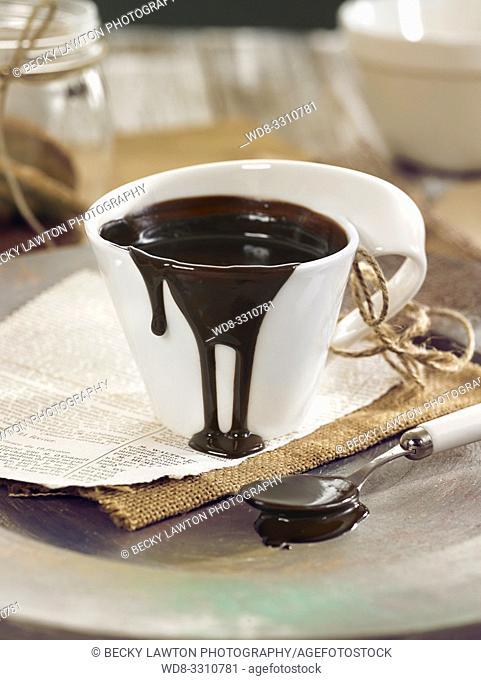 chocolate en taza. version vertical