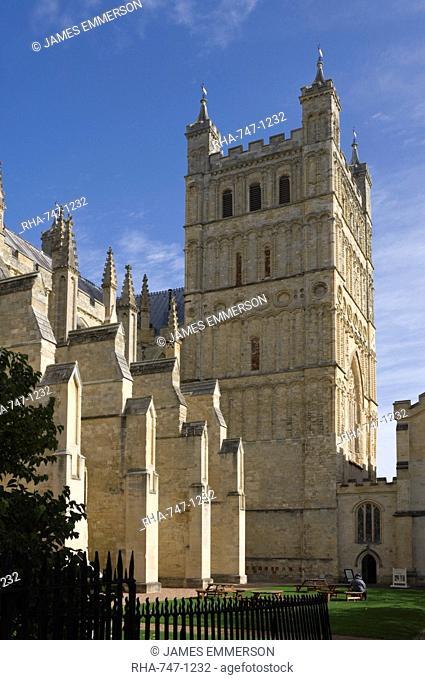 Exeter Cathedral, Exeter, Devon, England, United Kingdom, Europe
