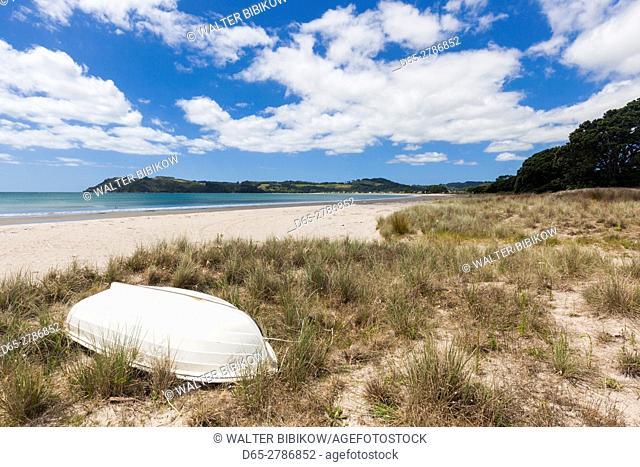 New Zealand, North Island, Coromandel Peninsula, Cooks Beach, beachfront