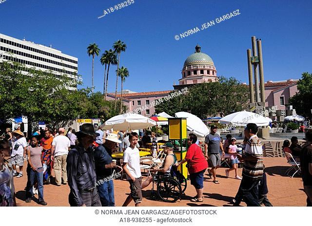 Tucson Meet Yourself, a multi-cultural festival in Tucson, Arizona, USA