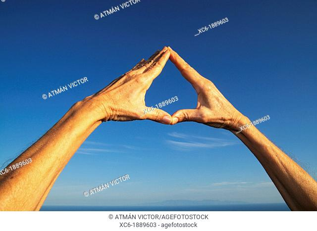 gesto manual, hand sign