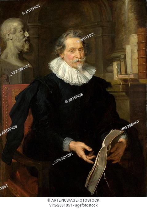 Peter Paul Rubens. Portrait of Ludovicus Nonnius. 1627. The National Gallery - London