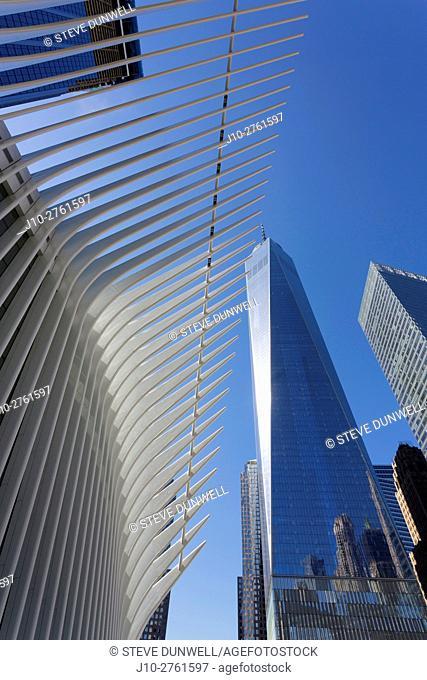 Oculus (architect = Calatrava), World Trade Center, New York City, USA