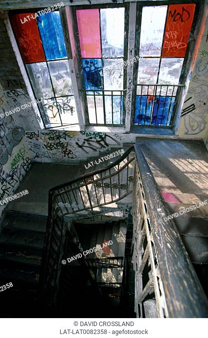 The Kunsthaus Tacheles is a former department store which now houses a collection of artists on Oranienburger Stra
