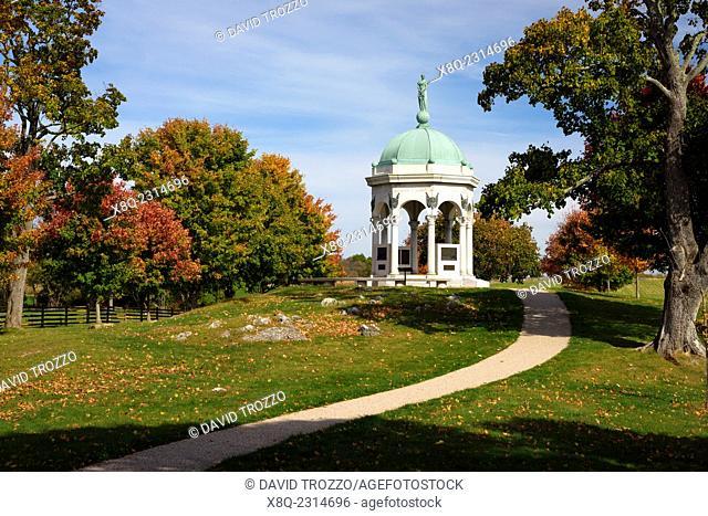 The Maryland Memorial, Antietam National Battlefield, Sharpsburg, Maryland, USA