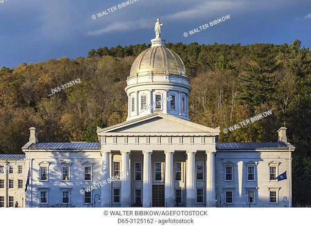USA, New England, Vermont, Montpelier, Vermont State House