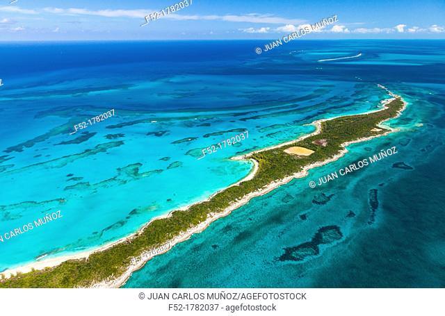 Aerial view, Nassau, Bahamas, America
