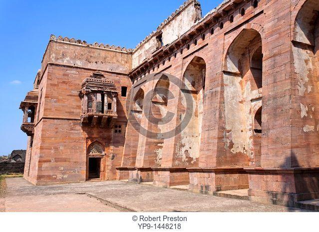 India - Madhya Pradesh - Mandu - the Swimg Palace in the Royal Enclave
