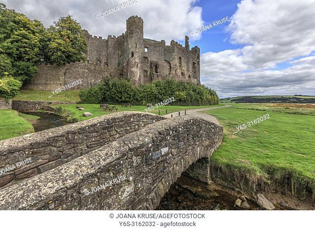 Laugharne Castle, Carmarthenshire, Wales, UK, Europe