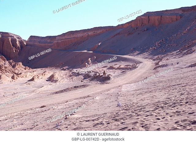 Worth of La Muerte, Los Flamencos Reserve National, Atacama Desert, Region of Antofagasta, Santiago, Chile