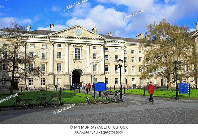 Regent House, Trinity College university, city of Dublin, Ireland, Irish Republic