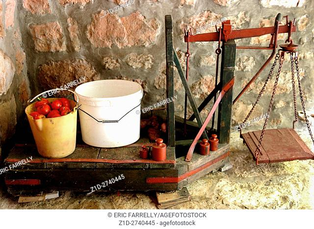 Farm weighing scales Greece