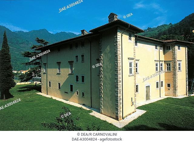 Italy - Tuscany region - Versilia - Seravezza (Lucca province). Villa Medici