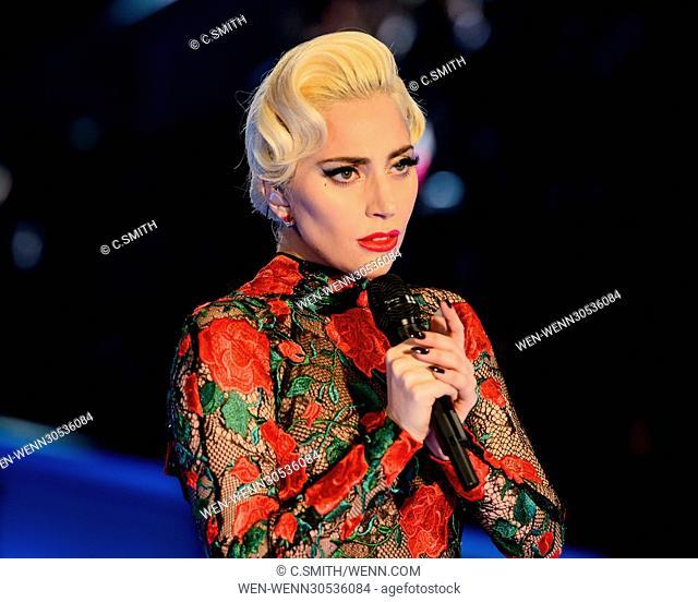 2016 Victoria's Secret Fashion Show at the Grand Palais Featuring: Lady Gaga Where: Paris, France When: 30 Nov 2016 Credit: C.Smith/WENN.com