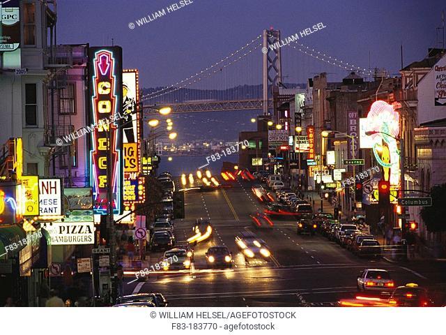 San Francisco. California. USA