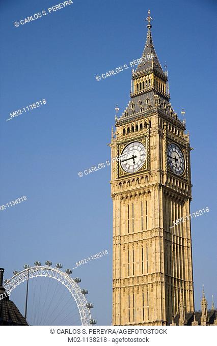 The Big Ben, London, Great Bretain, UK