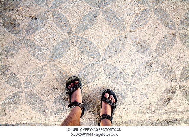 Mosaic Floor at Arykanda, Turkey