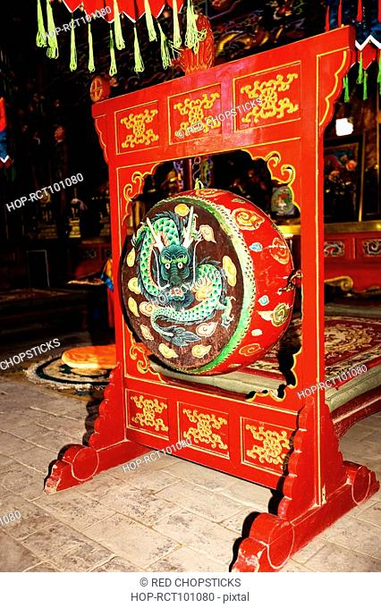 Sculpture in a temple, Da Zhao Temple, Hohhot, Inner Mongolia, China