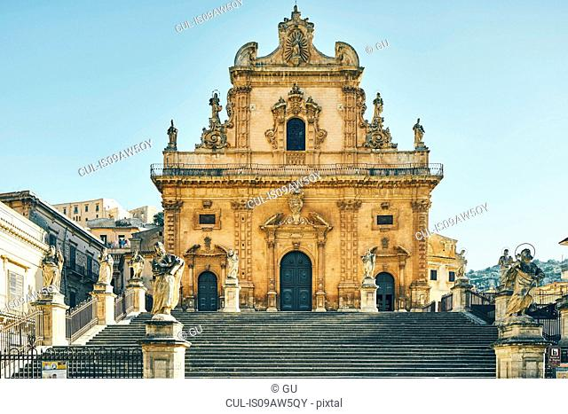 Cathedral of St Peter, Modica, Sicily, Italy