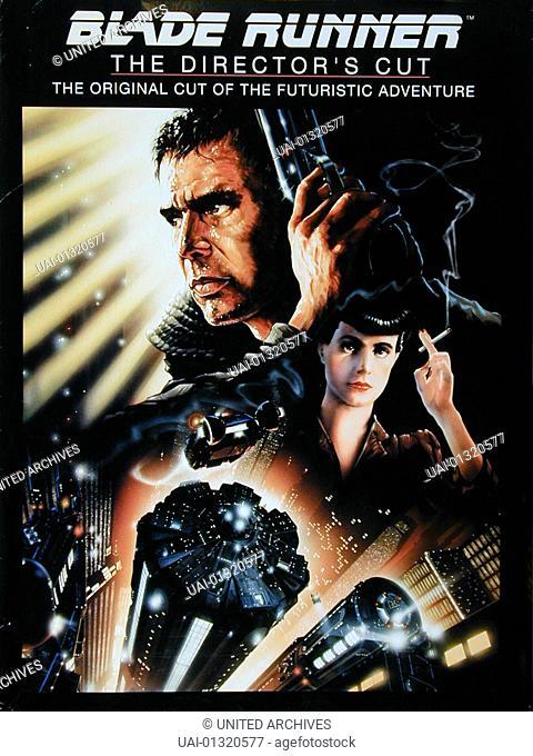 Poster *** Local Caption *** 1982, Blade Runner, Der Blade Runner - Poster -