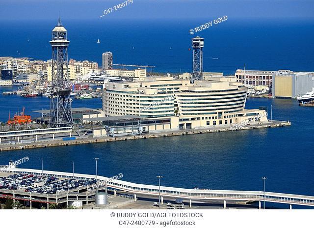 World Trade Centre building, Barcelona harbor, Catalonia, Spain