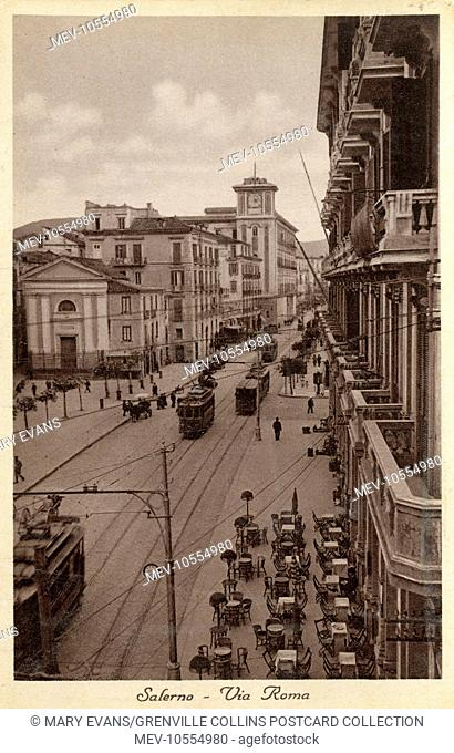 Salerno, Italy - Via Roma