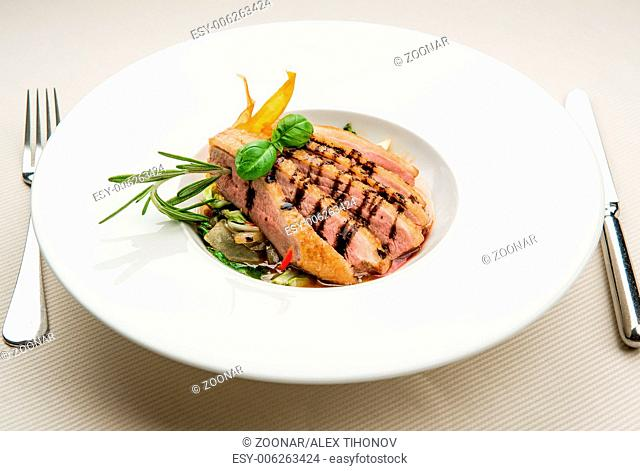 Fillet of duck breast