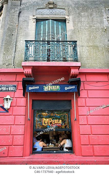 Paintings, La Boca, Buenos Aires, Argentina, South America