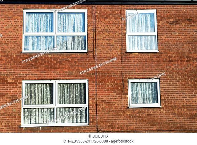 1970's built council housing, Colchester, UK