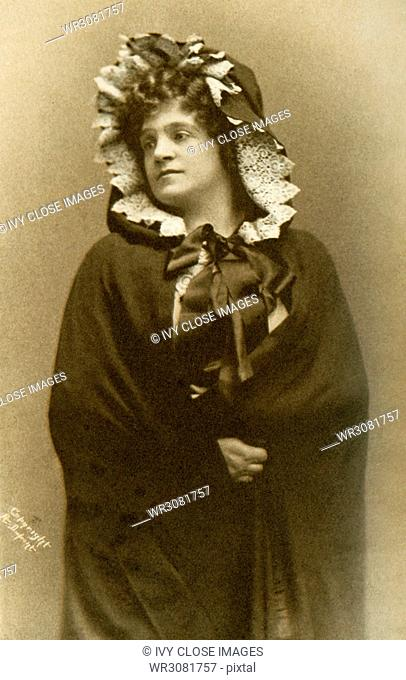 Shown here is Madame Marcella Sembrich as Mimi in La Boheme. Sembrich was a famous Polish prima donna who was born in 1859 and was an accomplished violinist and...