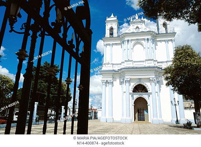 Sta. Lucía church. San Cristobal de las Casas. Chiapas. Mexico