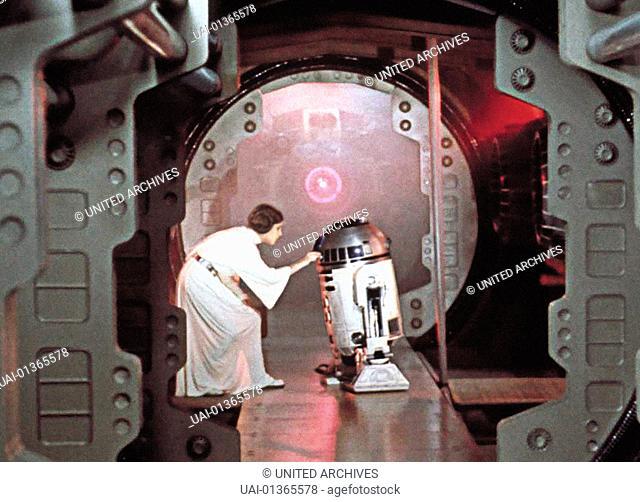 Krieg Der Sterne, 1970er, 1970s, Film, R2D2, Roboter, Science Fiction, Star Wars, robot, Krieg Der Sterne, 1970er, 1970s, Film, R2D2, Roboter, Science Fiction