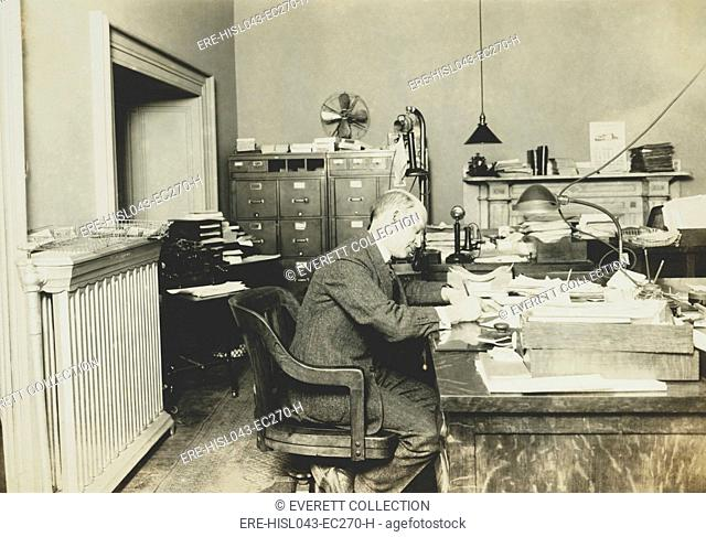 Dr. A. B. Adams, Head, Div. of Technology of the Internal Revenue, at start of Prohibition in 1920. In Nov. 1920 the Division was reorganized to provide relief...