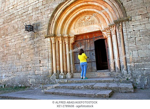Church of Santa Maria, Siurana, Tarragona, Catalonia, Spain