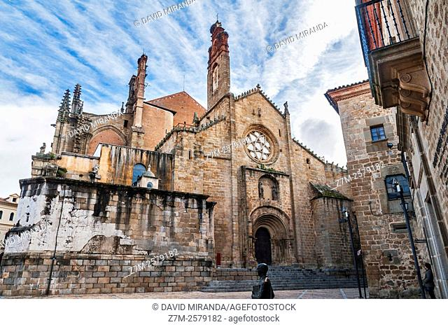 Catedral Vieja, Old Cathedral, Plasencia, Cáceres province, Extremadura, Spain. Historic and Artistic Heritage