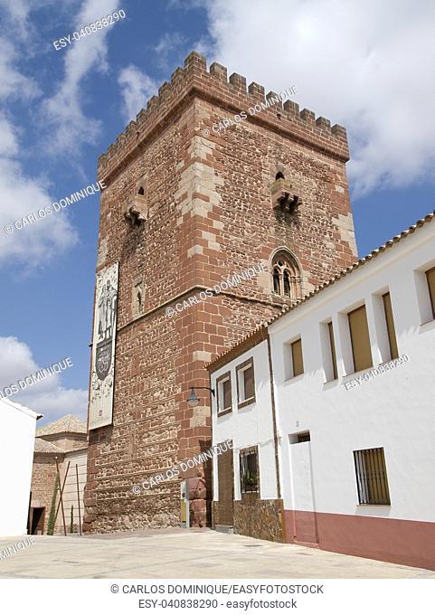 El Torreon tower in Alcazar de San Juan