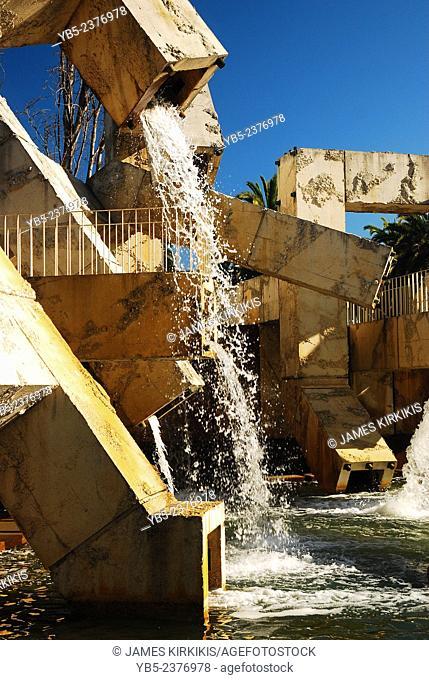 Vaillancourt Fountain, San Francisco